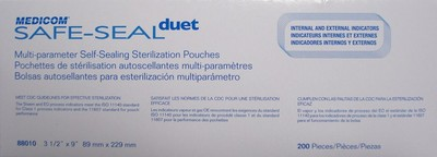 "Picture of Self-sealing Sterilization pouches 3½"" x 9"" / 83 mm x 229 mm - Medicom"