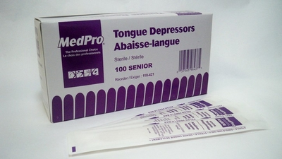 Picture of Tongue Depressors (Sterile) 100 units - AMG