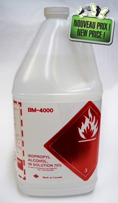 Picture of Isopropyl alcohol 70% 4 liters - BM 4000