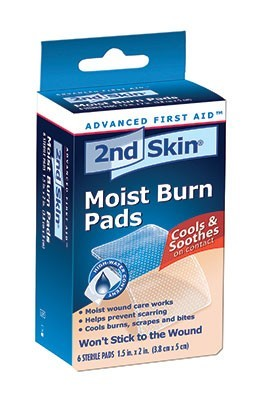 Picture of Moist Burn Pads - 2nd Skin