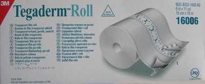 "Picture of Transparent Film Roll ""Tegaderm Roll""15 cm x 10 m (1 roll) - 3M"